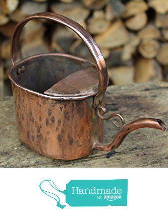 Innaffiatoio annaffiatoio in rame porta vaso porta oggetti lavorato a mano da La…