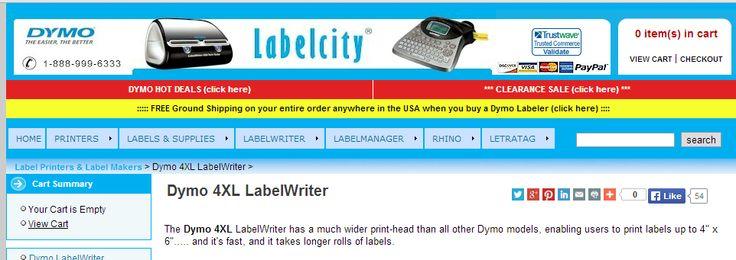Dymo 4XL LabelWriter