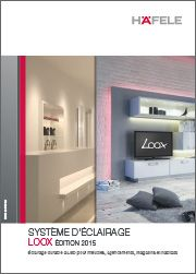 Nouvelle brochure LEDs LOOX 2015 ! Système d'éclairage pour meubles, agencements, magasins et habitats. Avantages : branchement simplifié plug & play, 3 familles de produits (12V, 24V, 350mA), applications variées (cuisine, sdb, bureau, dressing, magasins, etc.). L'édition 2015 de la brochure offre des infos supplémentaires sur l'efficacité énergétique, la qualité de rendu de la couleur et sur la puissance d'éclairement.