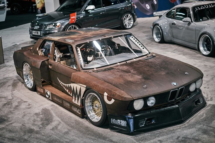 Is the BMW 535i Rusty Slammington the best modified, best named BMW 5-Series ever?
