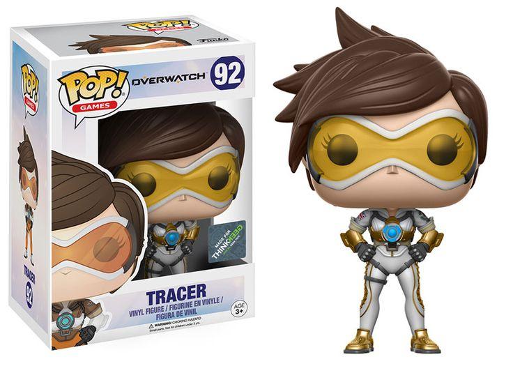 Overwatch: Posh Tracer Pop figure by Funko, Think Geek exclusive