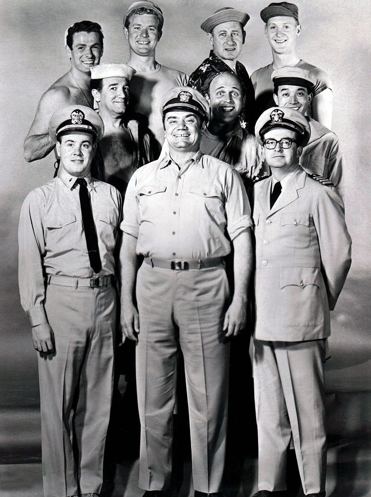 McHale's Navy is an American sitcom    from October 11, 1962, to August 31, 1966  StarringErnest Borgnine  Tim Conway  Joe Flynn  Gary Vinson  Carl Ballantine