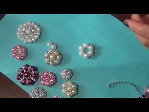 Цветы из бусин своими руками / DIY Beads Flowers Tutorial [eng subs] - YouTube