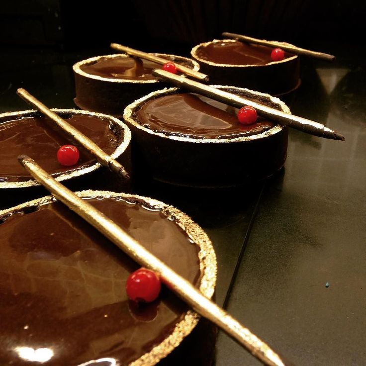 This decadent Belgian chocolate and Rum tart is one of our Christmas Specials.