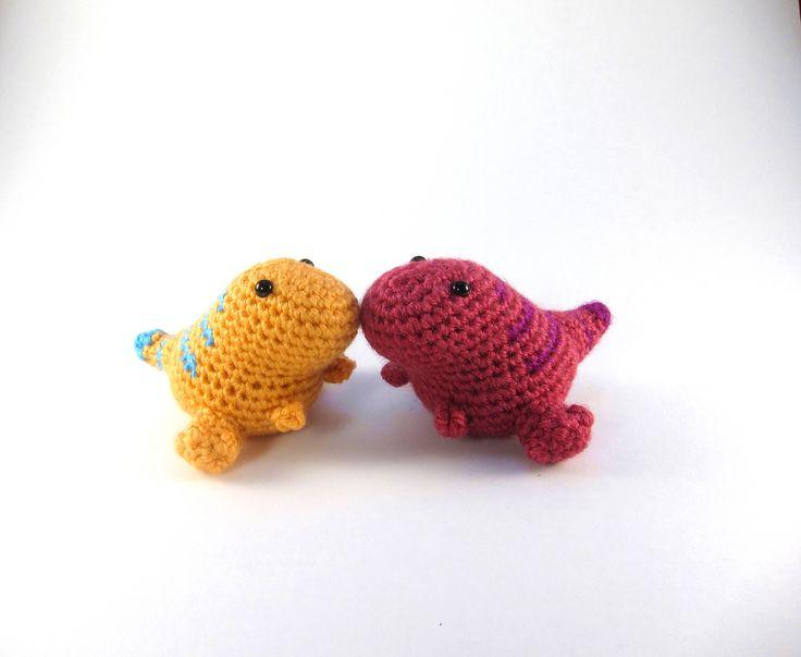 11 best crochet dino\'s images on Pinterest | Amigurumi patterns ...