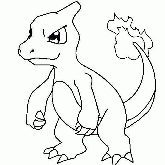 Charmeleon Free Pokemon Coloring Page Coloring Skola
