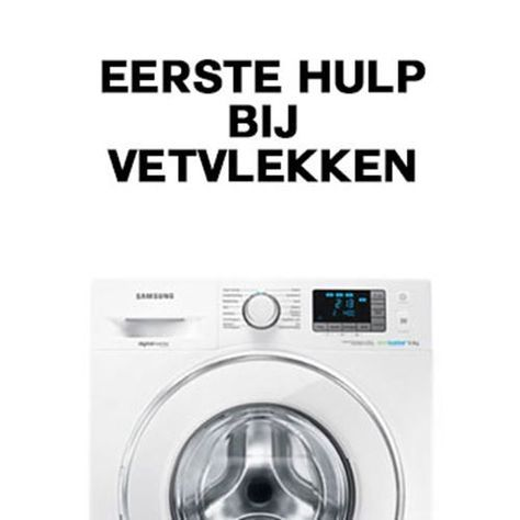 Een vet vlek in je kleding betekent niet dat je deze dan maar meteen moet weggooien. Wasmachine.nl heeft een paar handige tips om zelfs deze vieze vlekken te verwijderen!