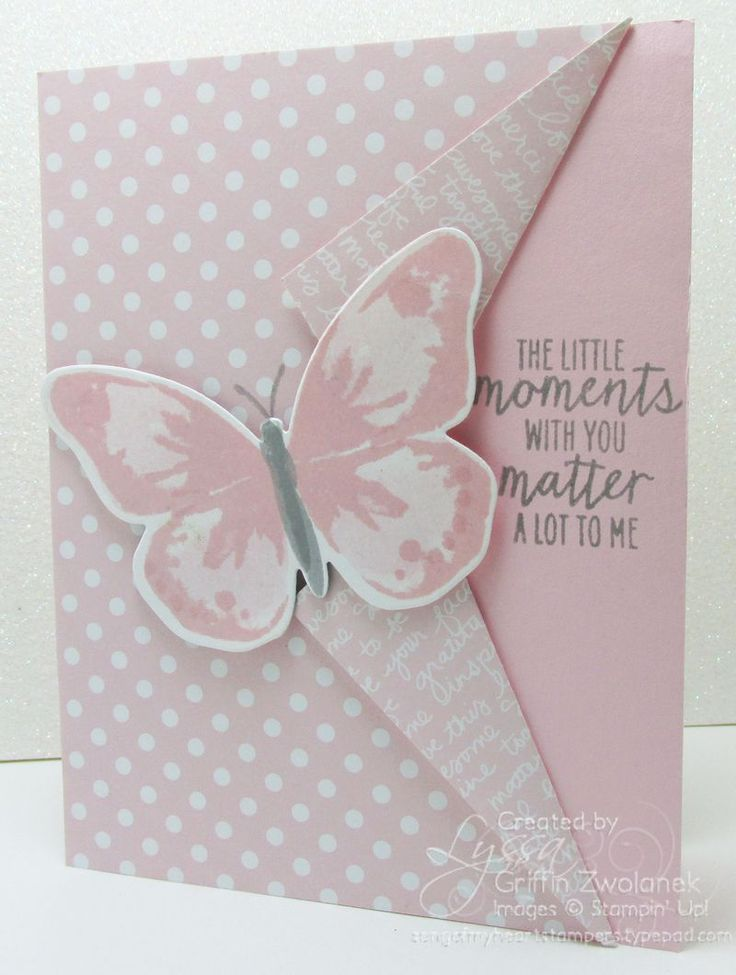 Ready to make it? Little Moments with You card/ Peek-a-Boo Front Fancy Fold:
