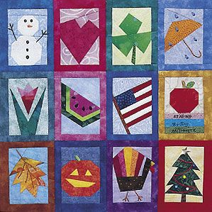 Quiltmaker has free foundations for this piece called Seasons and Celebrations at http://www.quiltmaker.com/patterns/details.html?idx=13441