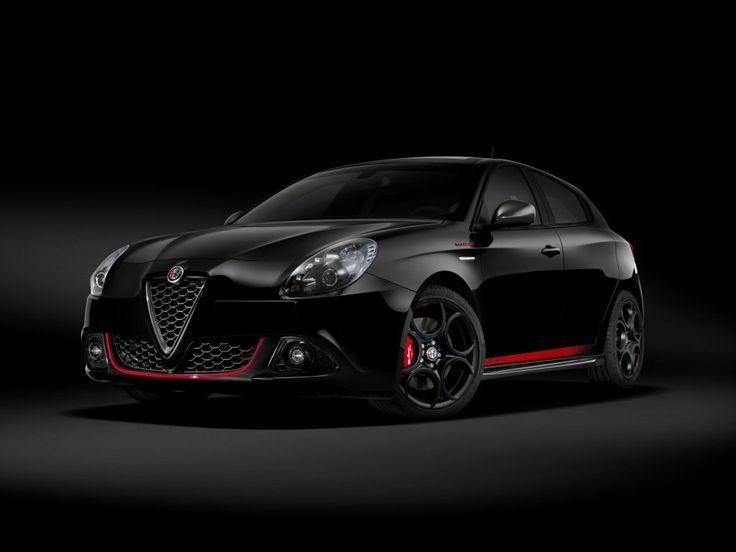 Imposing Wallpaper Alfa Romeo Giulietta Veloce Black Supercar