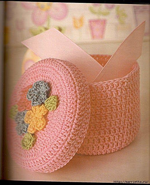 Crochet Basket Chart