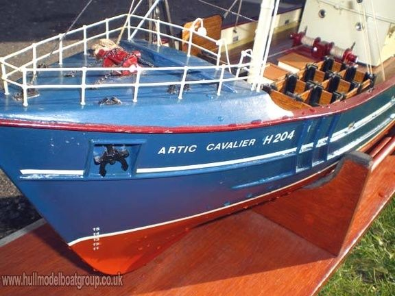 Boat Galleries / Fishing trawlers / Nordkap | The Hull Model Boat Group