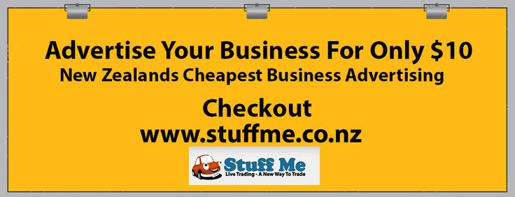 Are you looking for more exposure at an affordable price? email us today advertising@stuffme.co.nz