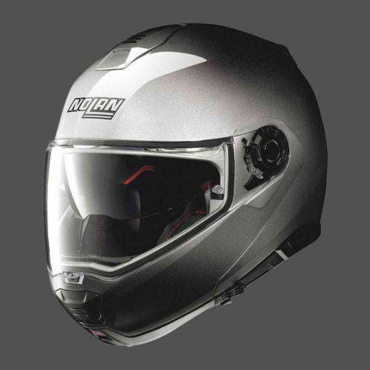 Nolan N100-5 Fade N-Com Helmet - Fade Silver