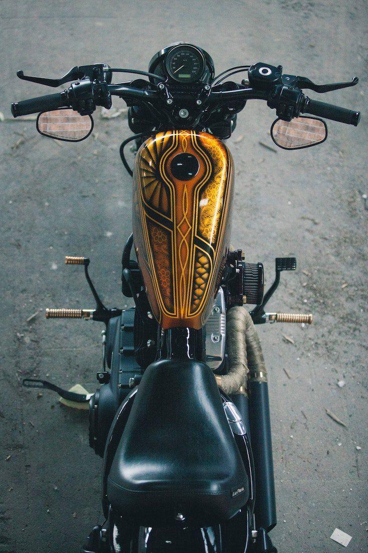 Harley Custom Build Custom Tank Revolt | Bike, Custom bikes
