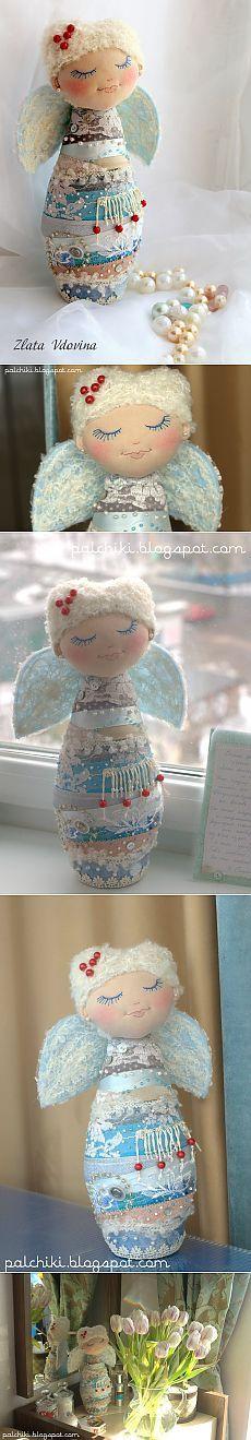 пАльчики - пЯльчики: сНежный Ангел мне в подарок