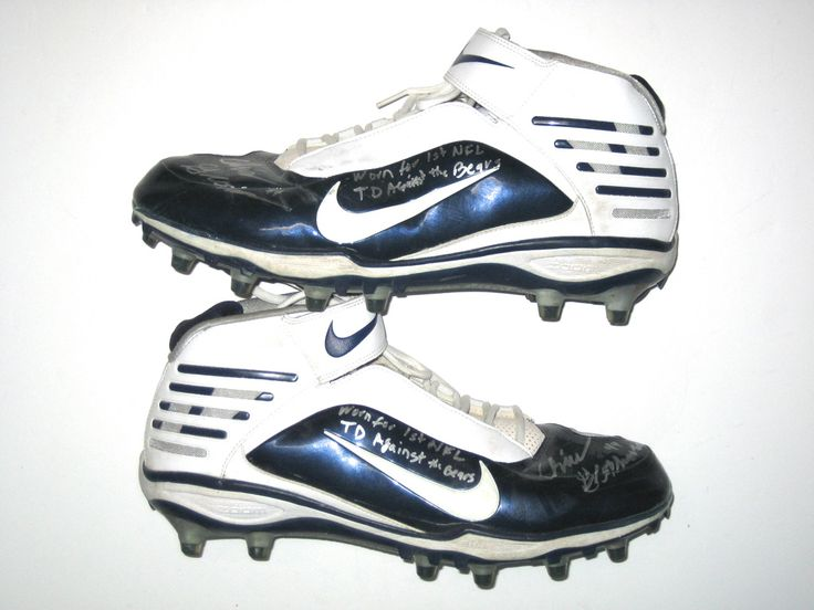 "Chris Gronkowski Dallas Cowboys Game Worn & Signed ""1st NFL Touchdown"" Nike Cleats"