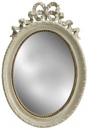 зеркало овальное светлое - в стиле Прованс 7990₽