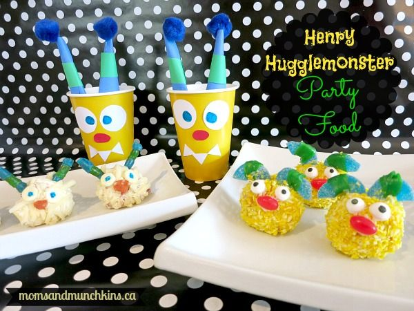 Henry Hugglemonster Crafts-Logan's 6th