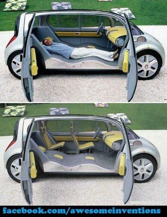 Oh man! I think I need this car!!!!But it looks like a smart car/mini van!!:D…