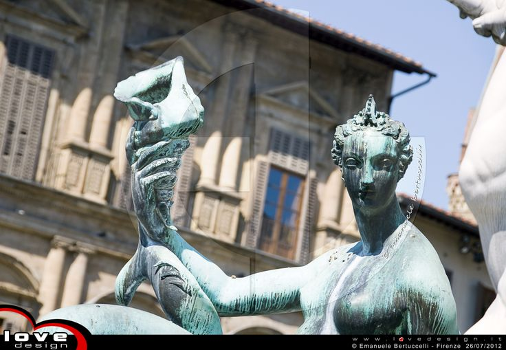 """""""The Fountain of Neptune is a fountain in Florence, Italy, situated on the Piazza della Signoria (Signoria square), in front of the Palazzo Vecchio. The fountain was commissioned in 1565 and is the work of the sculptor Bartolomeo Ammannati."""" - wikipedia"""