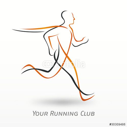 running logo vector - Google Search