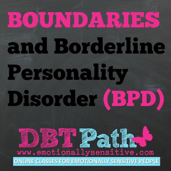 #Boundaries and Borderline Personality Disorder #BPD (latest blog post). Can you relate?