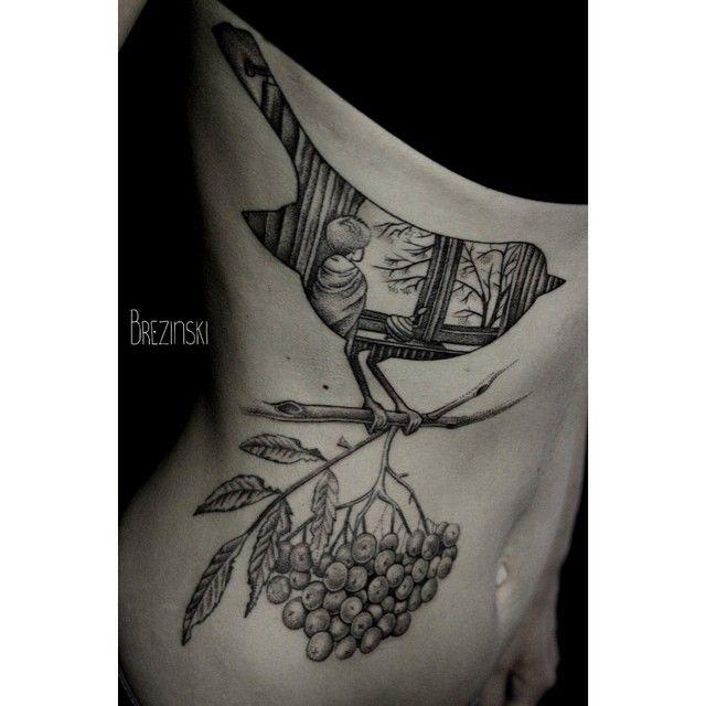 Best Brezinski Images On Pinterest Art Tattoos Behance And - Surreal black ink tattoos by ilya brezinski