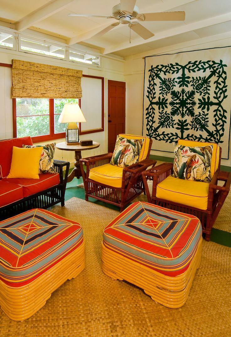 Room Ideas Design Hawaiian: 15 Best Hawaiian Cottage Style Images On Pinterest