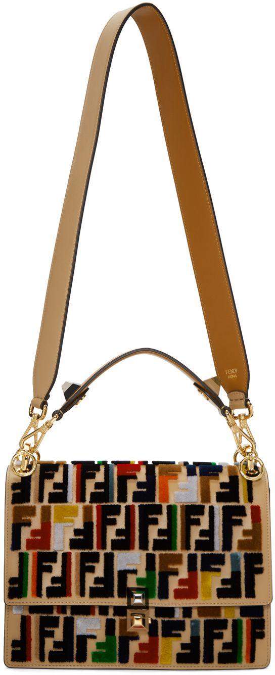 2a66603b200 Fendi - Multicolor Kan I 'Forever Fendi' Bag | fashion | Fendi bags ...