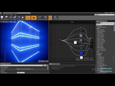 Creating an Emissive Tileable Material UE4