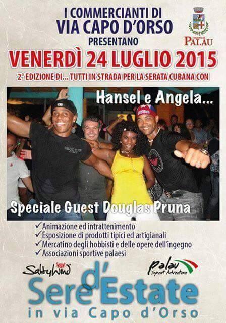 Tutti in strada - Live Music con  Hansel e Angela 24 luglio