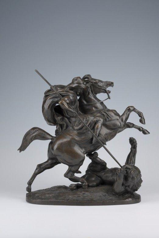 Antoine-Louis BARYE (Paris, 1796-1875) - Roubaix La Piscine