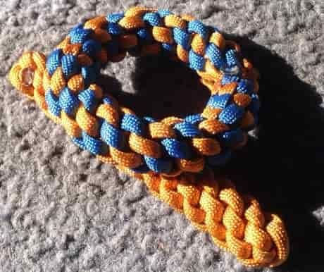How to make dog toys from Paracord
