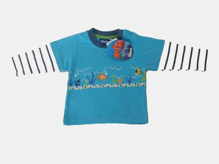 Triko Nemo. Triko s oblíbenou rybičkou Nemo.