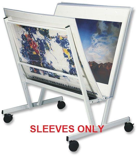 Floor Poster Display 'Poster Sleeves'
