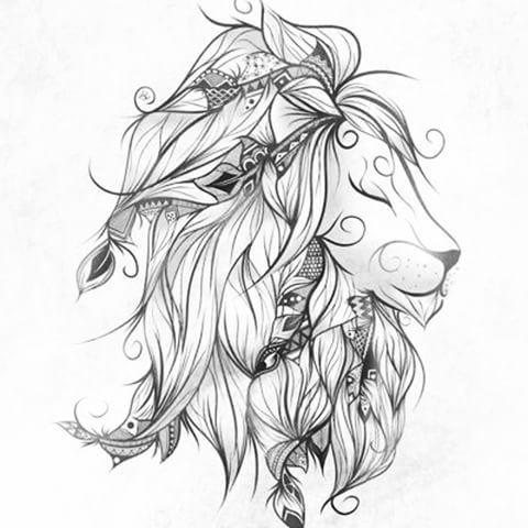 A lion represents power, strength & courage. #tattoo #iwant #lion #fierceful #highinstrength