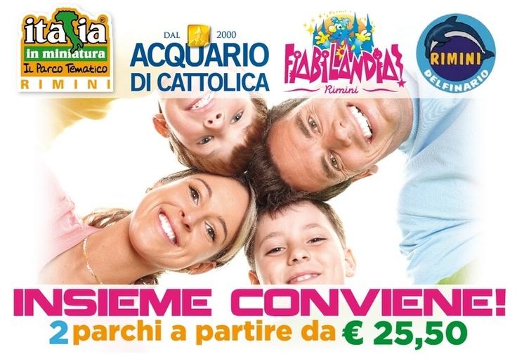 Offerte speciali nei parchi divertimento | Special offers for theme parks in Rimini Riviera