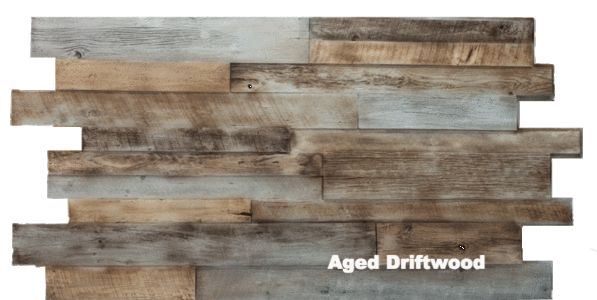 Reclaimed Wood - Replications Unlimited - Faux Stone Sheets