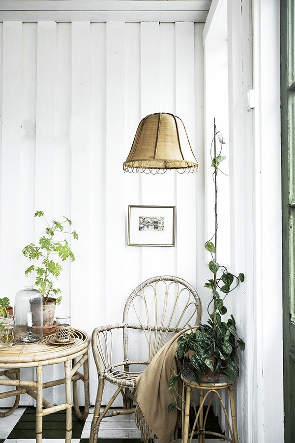 Vintage House: CANE AND GREEN