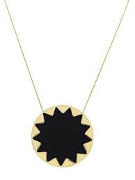 House of Harlow sun burst leather necklace! Stunning and essential for perfecting the bohemian style.
