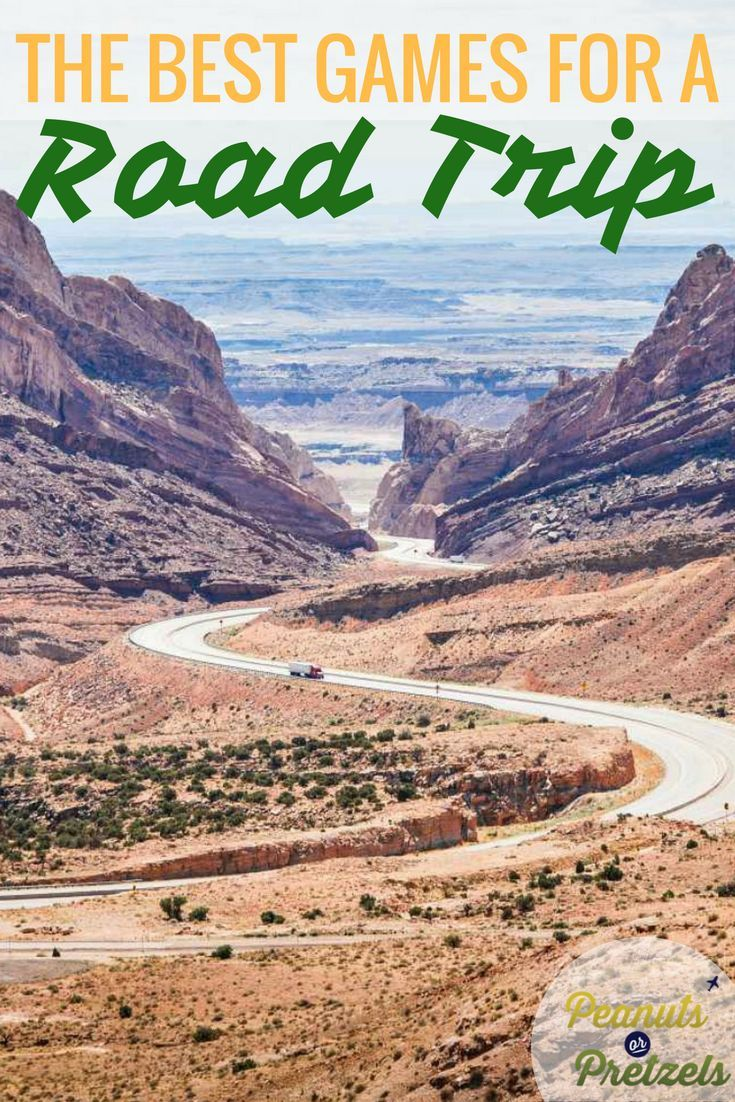 If you are like us, then you love a good road trip! And the excitement of a road trip is not about sitting in the car for hours on end - it's the fun you have along the way. We love to stop off along our road trips to explore, but we also love to play some road trip games. So we've put together a list of road trip games that you can play on your next road trip! Click through to read about our favorite road trip games. | Peanuts or Pretzels #roadtrip #games