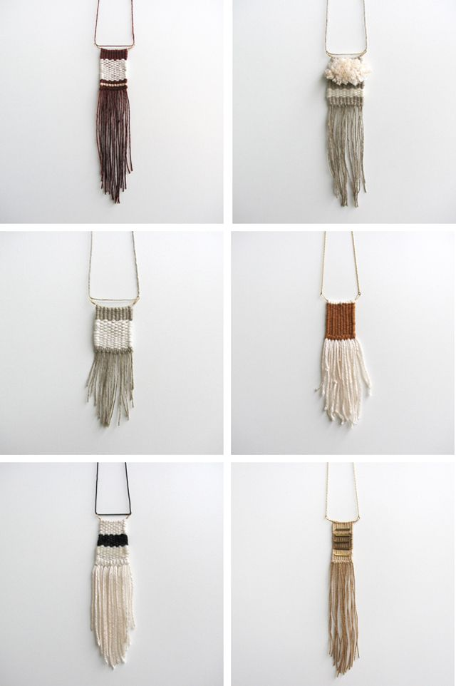 karibreitgam | New woven necklaces in the etsy shop.