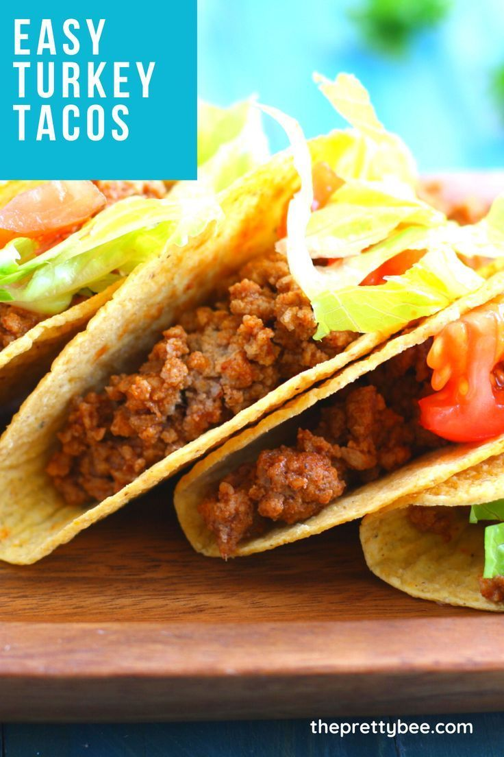 Dinner Recipes Without Cheese Dinner Recipes For 7 Salad For Dinner Recipes Dinner Recipes In 2020 Easy Turkey Tacos Gluten Free Recipes For Dinner Quiche Recipes