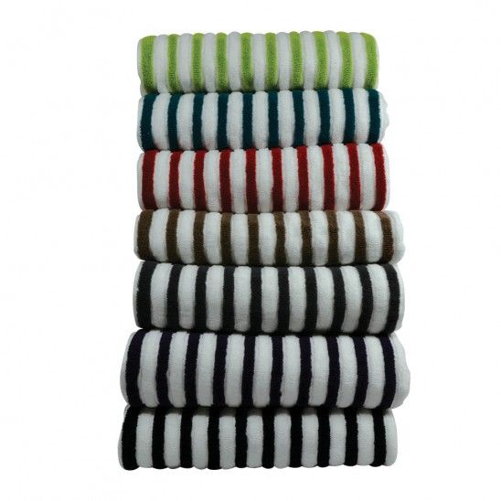 Marquise Stripe Towels (7 colours)