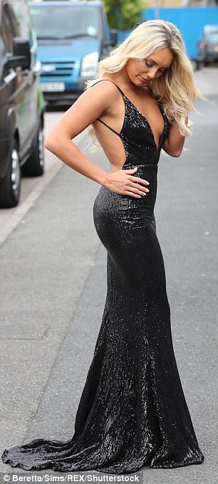 TOWIE's Amber Turner and Chloe Sims sizzle in busty gowns