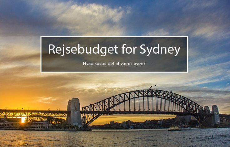 Rejsebudget for Sydney - hvad koster det at være i byen?