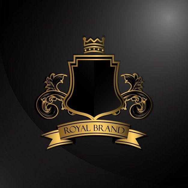 Download Elegant Golden Logo For Free