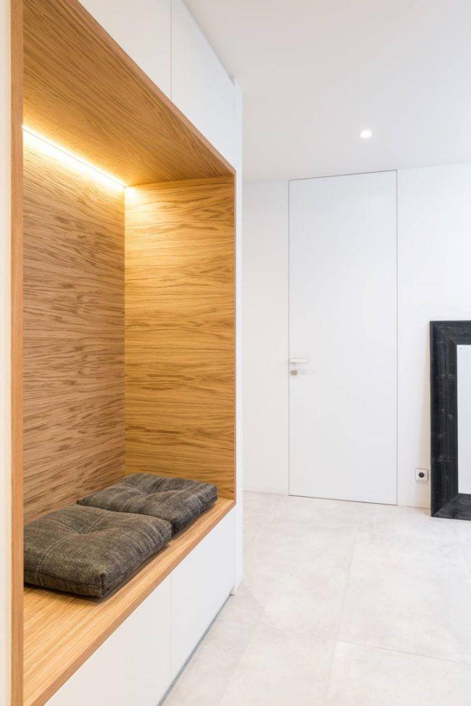 Realizace dveří a skrytých zárubní DORSIS pro architektonické studio OOOOX