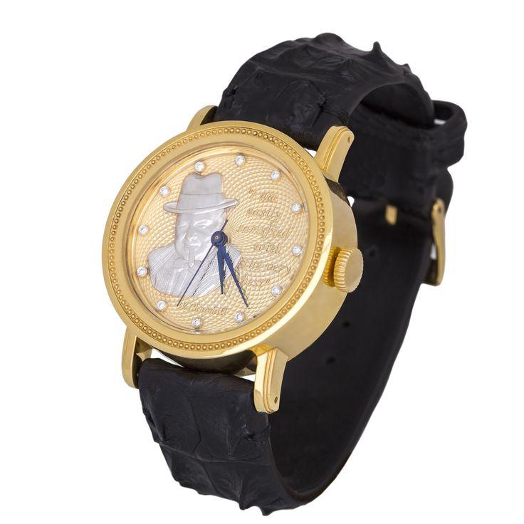 Часы «Уинстон Черчилль» — Часовая мануфактура «GoldEon»